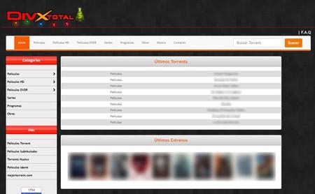 DivxTotaL no ha muerto, esta y otras webs de descargas bloqueadas por la Guardia Civil están reabriendo
