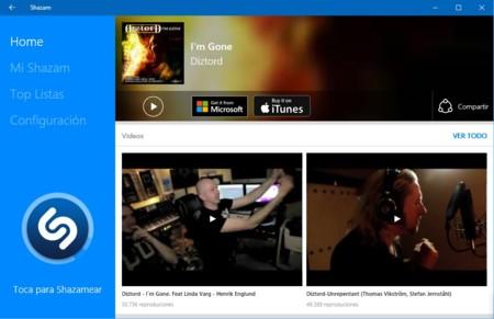 Shazam ya está disponible para Windows 10