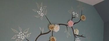 Bonitas (y originales) ideas para decorar las paredes de la habitación infantil