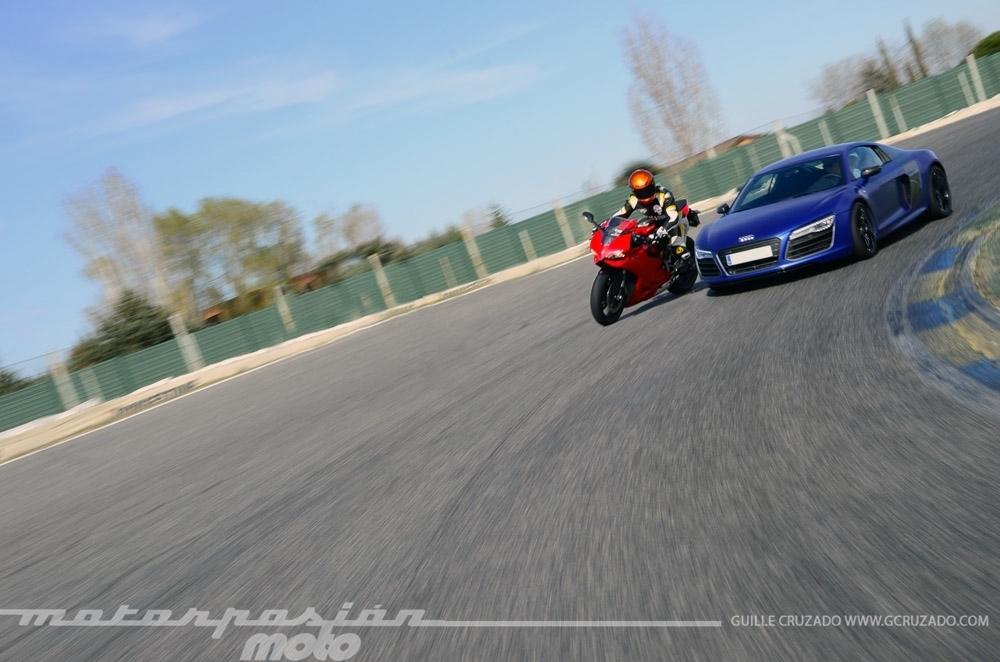 Foto de Ducati 899 Panigale Vs Audi R8 V10 Plus (20/24)