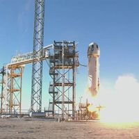 Contempla cómo la cápsula Blue Origin para turistas llega al espacio: 115,8 kilómetros de altitud
