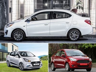 ¿Cuál me llevo? Dodge Attitude vs. Ford Figo vs. Hyundai i10