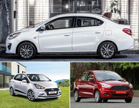 b87c578a2793a Cuál me llevo  Dodge Attitude vs. Ford Figo vs. Hyundai i10
