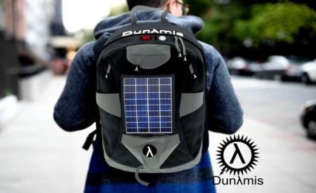 Dunλmis BackPack, un morral con paneles solares