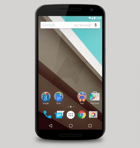 Así luce el Nexus 6 de Motorola, con pantalla de 5,9 pulgadas