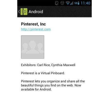 ¿Pinterest para Android proximamente disponible?
