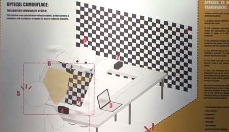 El camuflaje óptico quiere llegar a los automóviles para ayudarnos a ver qué tenemos detrás