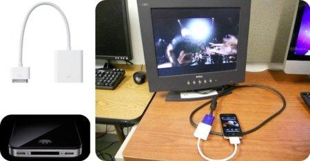 El adaptador VGA del iPad es compatible con el iPhone 4