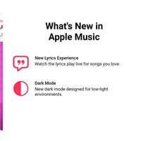 La beta de Apple Music para Android trae el modo oscuro y lyrics en tiempo real