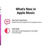 La beta de Apple Music para Android trae el modo oscuro y lyrics en tiempo real