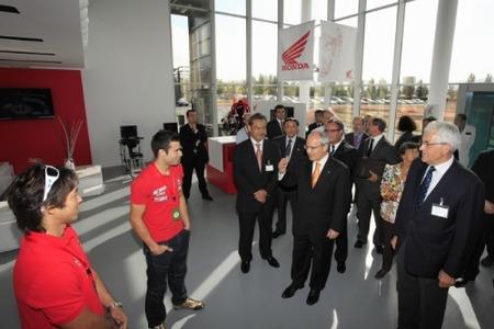 Honda inaugura el primer centro europeo dedicado en exclusiva a la seguridad en la moto