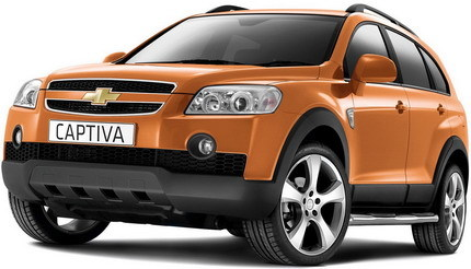 Chevrolet Captiva Edge Edition para Reino Unido