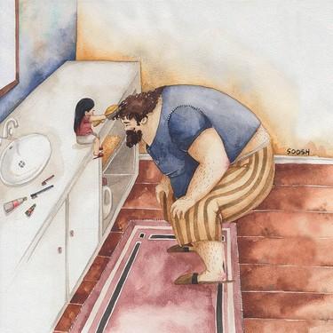 15 ilustraciones sobre la paternidad con las que te sentirás identificado