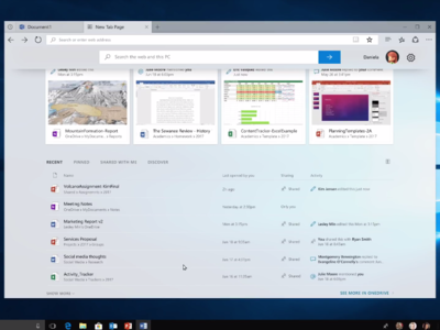 'Sets', el futuro de la multitarea en Windows 10 son pestañas inteligentes