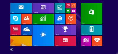 Windows 8.1 de cerca, configuración de la escritura