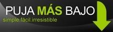 Pujamasbajo.com, subastas a la inversa