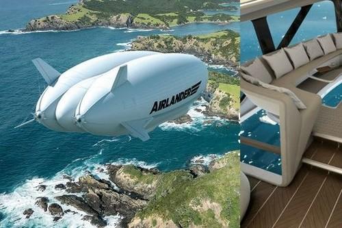 Este es el avión más grande del mundo y es literalmente un palacio que surca las nubes