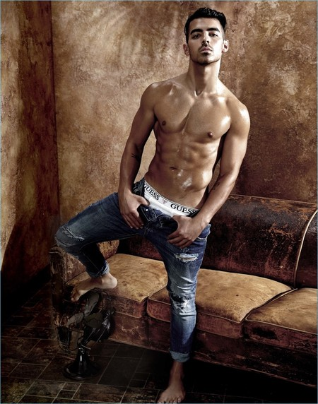 Joe Jonas 2017 Guess Underwear Campaign 006