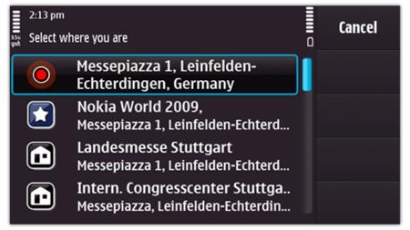 Nokia Lifecasting with Ovi, Facebook en la pantalla de inicio de tu teléfono
