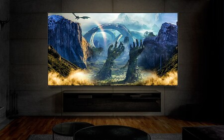 Tv Qned Large Screen 12 Cinema Desktop