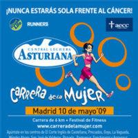 Carrera de la Mujer en Madrid, para unirse en la lucha contra el cáncer