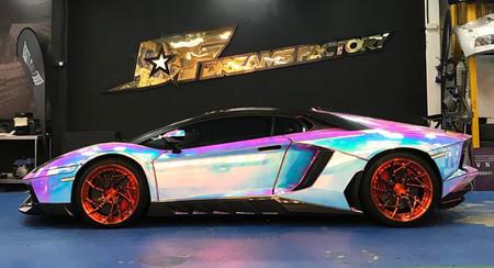 ¿Pero qué le han hecho al Lamborghini Aventador?
