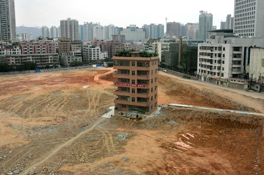 Nail Houses China 7