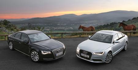 Audi A6 y A8 Hybrid