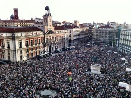 Puerta del Sol, Madrid, 12 de mayo de 2012