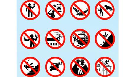 Indicaciones del folleto para selfies