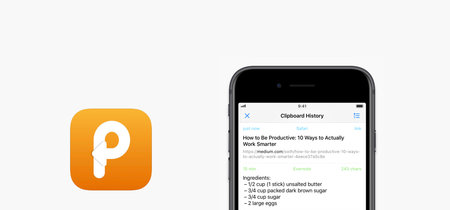 Paste 2 llega a iOS, el gestor de portapapeles que se sincroniza con todos tus dispositivos iOS y macOS