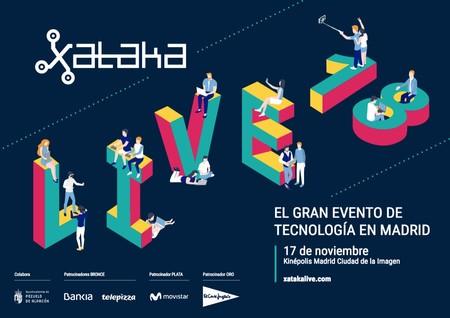 Premios Xataka 2018: reserva el 17 de noviembre y consigue ya tu entrada