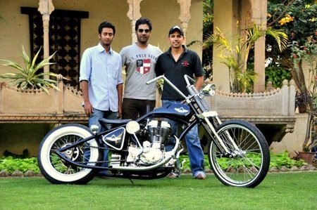 Rajputana Customs, o como transformar una Royal Enfield