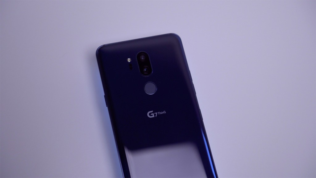 Sensor huellas LG G7