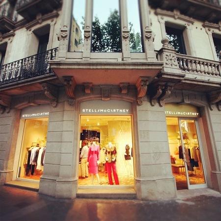 Stella McCartney abre su primera tienda en Barcelona