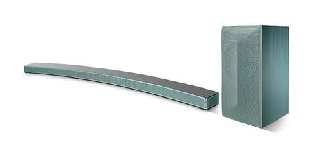 Sólo esta mañana, tienes la barra de sonido LG HS8 LAS855M para TVs curvas por 299 euros en Mediamarkt