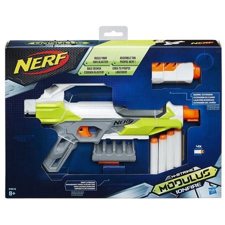 Por sólo 14,24 euros tenemos la pistola lanzadardos Nerf Ionfire Modulus en Amazon