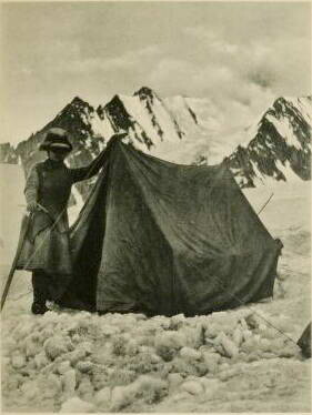 Fanny Bullock Workman And Mummery Tent 1