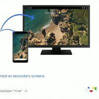 Modo escritorio de Android 10 Q: Google da más detalles sobre su funcionamiento en pantallas externas y móviles plegables