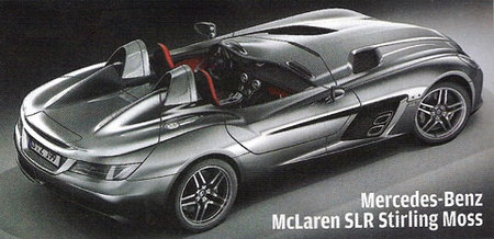 Mercedes-Benz SLR McLaren Stirling Moss Roadster