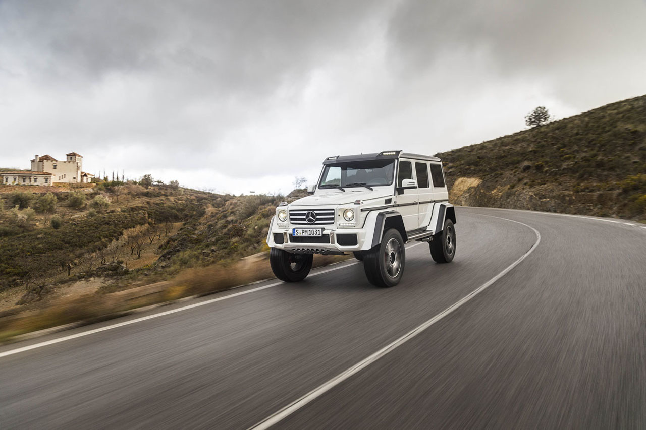 Foto de Mercedes-Benz G 500 4x4², toma de contacto (91/127)