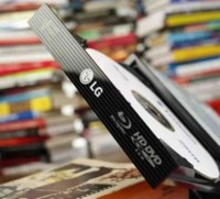 Grabadora híbrida de Blu-Ray a 6x y HD-DVD a 3x, de LG