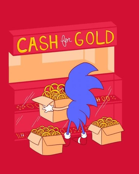 Sonic pasando apuros económicos