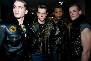 Versace Otoño-Invierno 2012/2013 en la Semana de la Moda de Milán