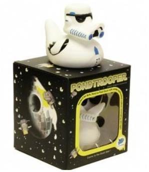 Pato de goma de la Guerra de las Galaxias