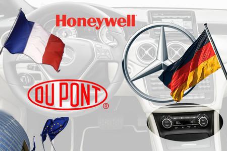 DuPont Honeywell Daimler R134a HFO-1234yf
