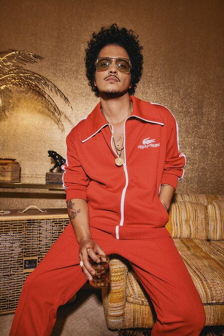 Lacoste X Ricky Regal Bruno Mars
