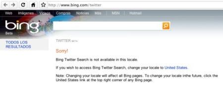 Integración con bing