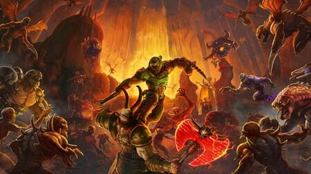 Doom Eternal Portada