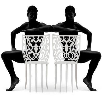 'Kushi Chair', una silla peineta de lo más original